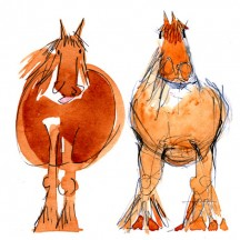 6 Two Horses