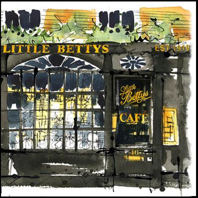 187 Little Bettys café
