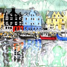 §301 Fishing Boats, Tobermory